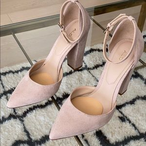Aldo nude shoes